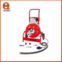 Newest Model Drainage Pipe Machine,D1000 Electric drum Snake Drain Cleaner
