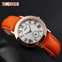 2016 high quality genuine leather quartz movt oem ladies wrist watch