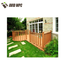 Good quality and low price wpc wood plastic handrail capping