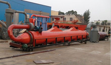 Large capacity sawdust dryer