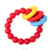 Silicone Teething Bead Bracelet/Food-safe Hot Mom Wear Nursing Bangle Jewelry Baby Chewy