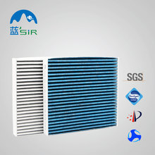 Carbon car cabin air filter for Alphard/Tundra/ Land Crusier/Prado;LEXUS CT/CS/IS/LS/RX OEM OBM Good for filtrating PM2.5