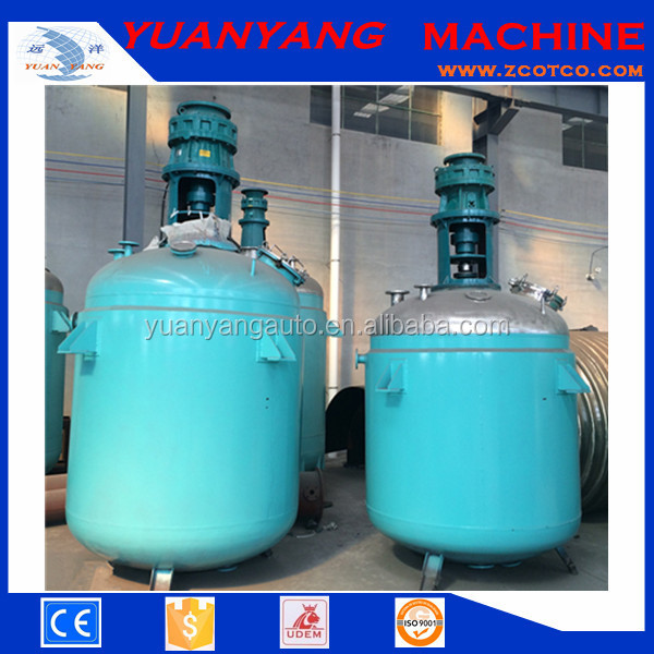 3000L stainless steel double jacket reactor /steam jacketed Reaction vessel /chemical jacketed agitated Reactor