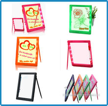Best-selling kids erasable writing boards, christmas gift 2015, children dry eraser writing board