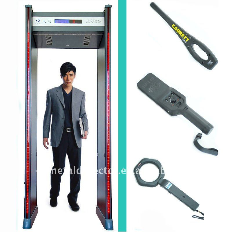 TX-200PW Walk Through Metal Detector Metal Detector Door Security Equipment