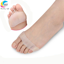 2018 Amazon Hot Selling Foot Care Soft Silicone Gel Ball of Foot Pain Relief Metatarsal Cushion Provide Forefoot Protection