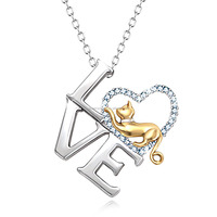Latest Design Love Shape 925 Sterling