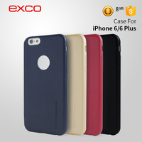Phone accessory for iphone6 EXCO PU leather mobile phone skin for iphone covers 6