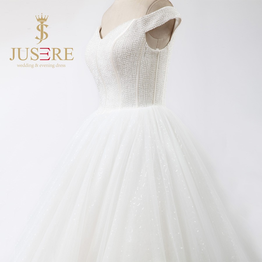 Newest Lace Up A Line Clear Beaded Satin Boned Sweetheart Tulle 2016 Ivory Wedding Dresses with Long Trains