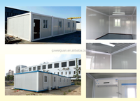 Container movable prefabricated house