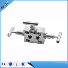 High Pressure and High Temperature Forged 3-Way Valve Manifold