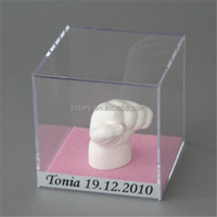 Fashion And Clear Acrylic Rose Box