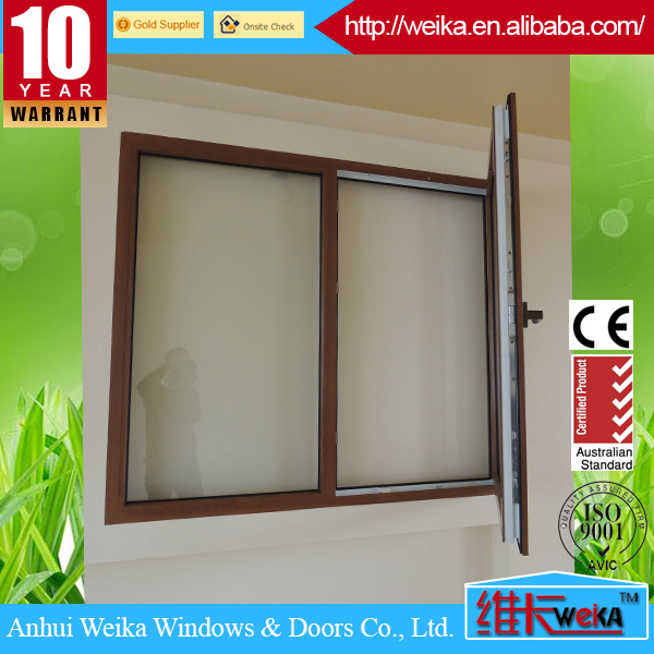Mirror Reflective One Way Glass PVC Window and Door