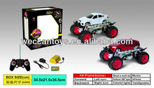 Newest and cool 6CH rc crazy car toy both for girl and boy