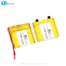 Reliable suplier Ultra thin lithium polymer battery Or 3.7v 90mah Li-polymer lithium battery 402020 100mah 120mah