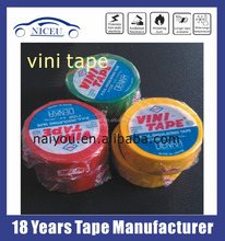 VINI Denka #102 Insulated adhesive tape 0f UL listed Electrical Vinyl PVC tape