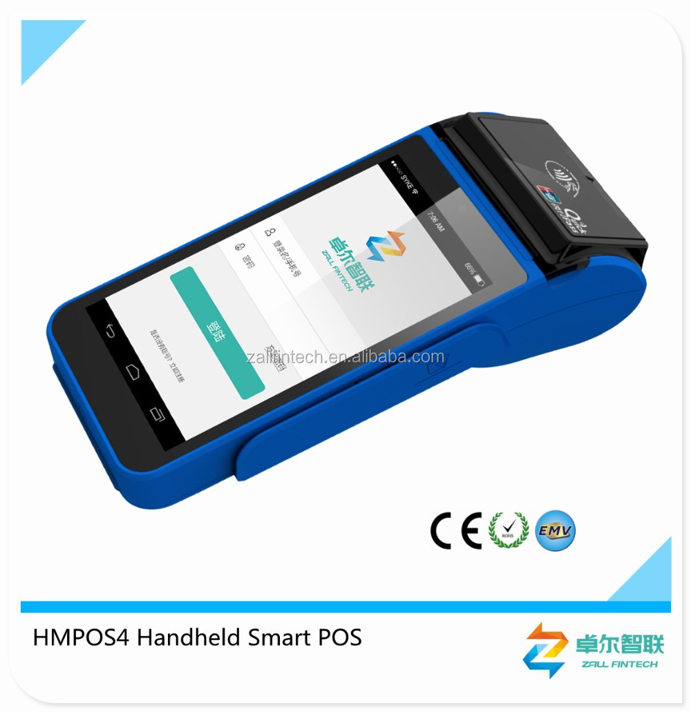 5.5 inch Android Mobile POS with 3G,WIFI, BT, PRINTER, MSR,IC, NFC Card Reader