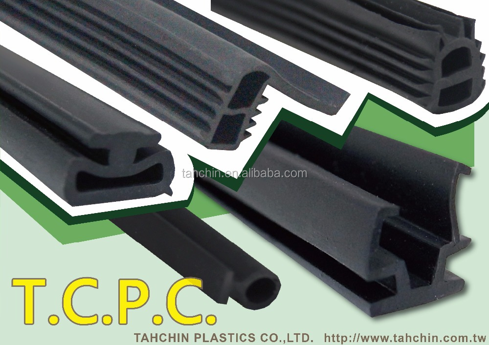 High quality TPV auto door and aluminum window rubber seal strip
