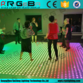 Waterproof cat walk led dancing floor brick lights digital dance floor light