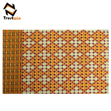 New arrival 100% polyester African wax knitted fabric sale for party