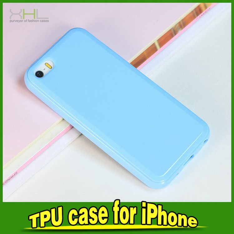 New style hot selling transparent tpu case for iphone5c