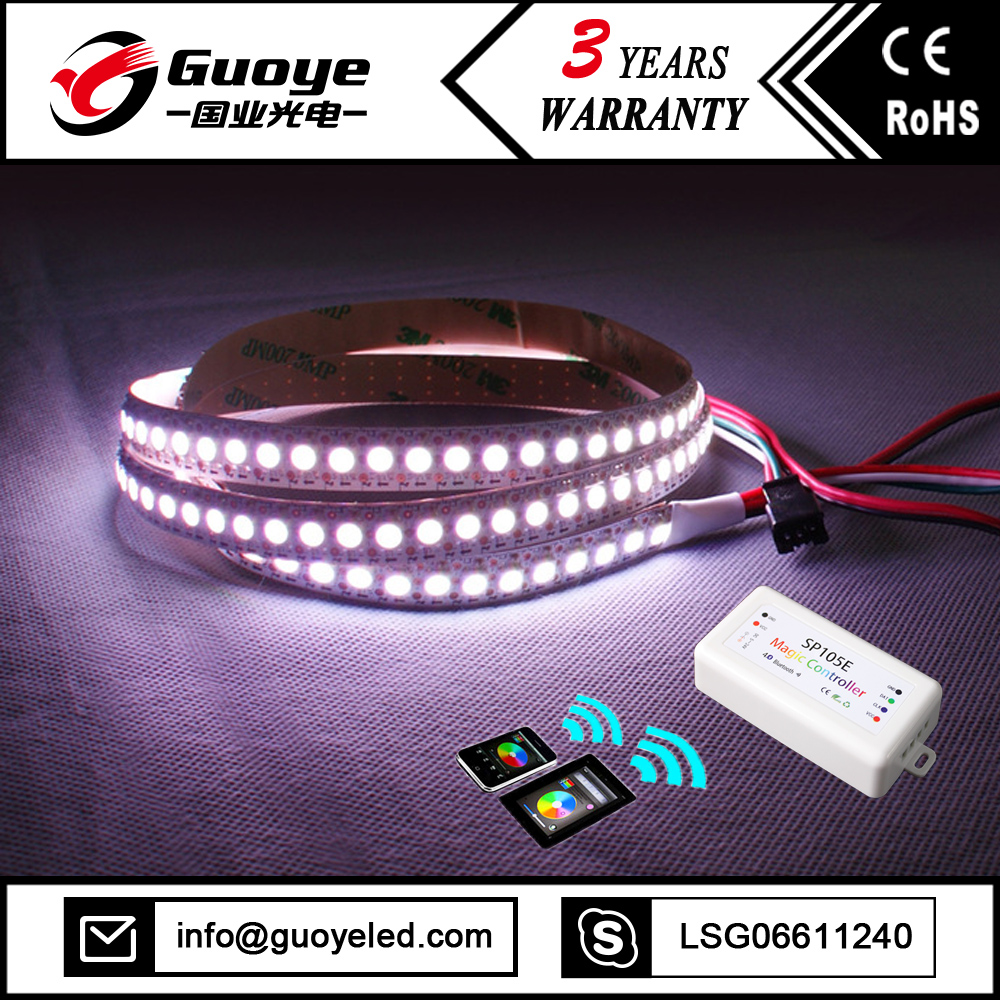 144 led strip ws2812 pixel with RGB RGBW color magic strip