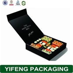 Food Sushi Packaging Take Away Sushi Paper Box For Wholesale