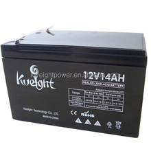 12V 14AH AGM Sealed Deep Cycle Battery for battery storage/ UPS /Alarm system manufacture in China