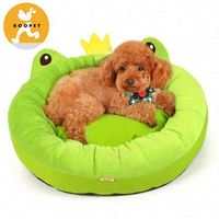 Easy clean high quality new product soft plush pet bed