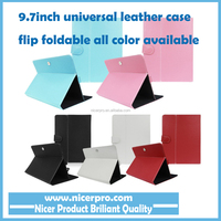"9.7"" case for tablet Universal Magnet Stand PU Leather Folio Cover For MID Tablet Accessories"