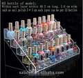CE approved transparent hot sale acrylic cosmetic display lipstick stand holder with cosmetic display lipstick stand hold