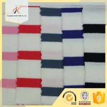 100 cotton stripe design printed single jersey knitted fabrics