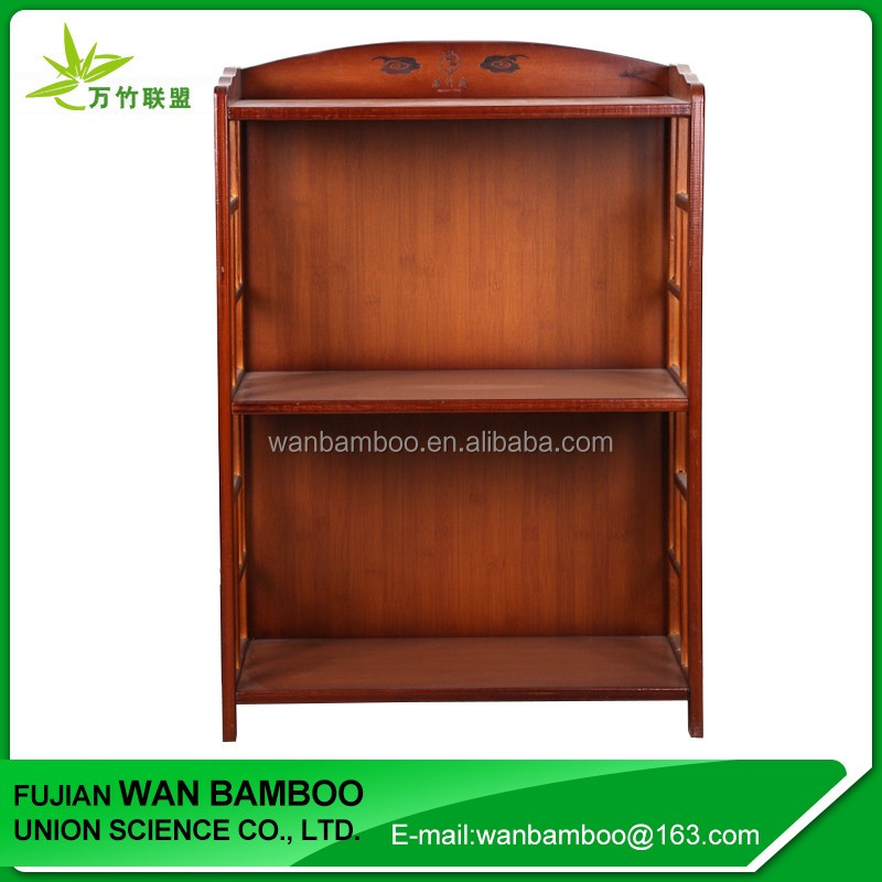High Quality Bamboo Bookcase