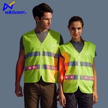 Hi Vis LED Flashing Safety Cleaning Uniform for Road Cleaner