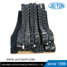 mini excavator rubber tracks used,small rubber track,rubber track system