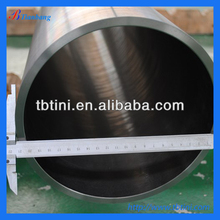 Large-scale specialized production diameter 130 mm * wall thickness 12.0mm * 4300 mm pure titanium tube