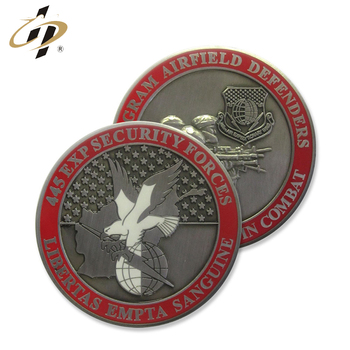 Factory making custom metal high quality enamel logo souvenir coins