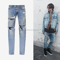 Famous Bieber Men Jeans Fear Of