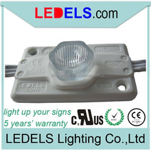 LED modules 24v 1.2watt for double-side illuminated light boxes 5 year warranty UL certification E468389