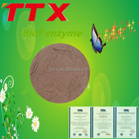 Natural compound enzyme for animal feed