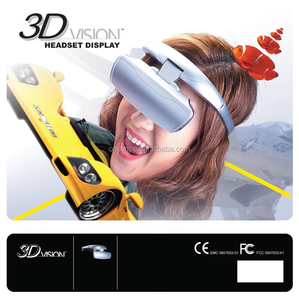 56 Inch TV Personal Theatre 3D Video Glasses