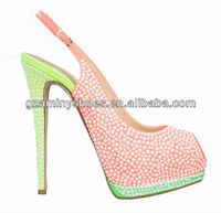 2013 Sexy woman shoes with high heel