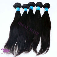 noble silky straight virgin brazilian hair extension hair clip at attractive price