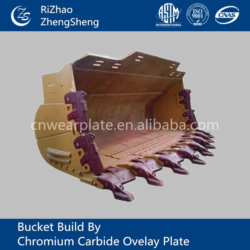 High Quality Wear-resistance Standard excavator bucket size