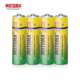 MOTOMA shrink packing R6 um3 aa batteries 1.5v Battery Zinc Carbon for remote control