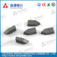 Buy Tungsten carbide brazed inserts carbide cutting tools type E ...