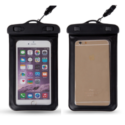 Elegant appearance TPU waterproof phone bag phone cover case