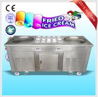 instant ice cream rolls machine with good quality from china