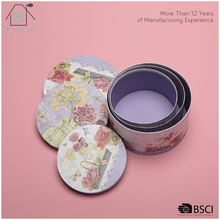 Wholesale round paper flower gift packaging box