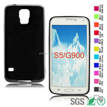Crystal clear TPU soft case for Samsung Galaxy S5 G900